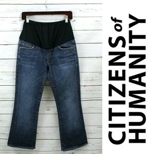 CITIZENS OF HUMANITY Maternity Jeans Kelly Boot 27